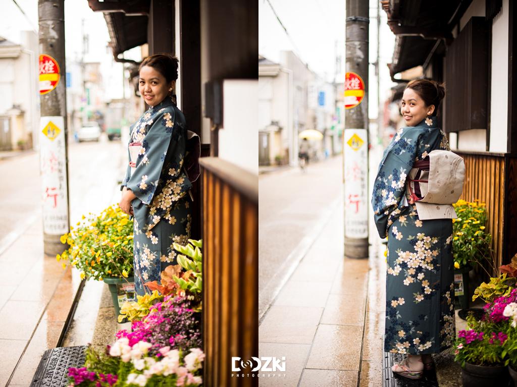 Victoria in Kimono