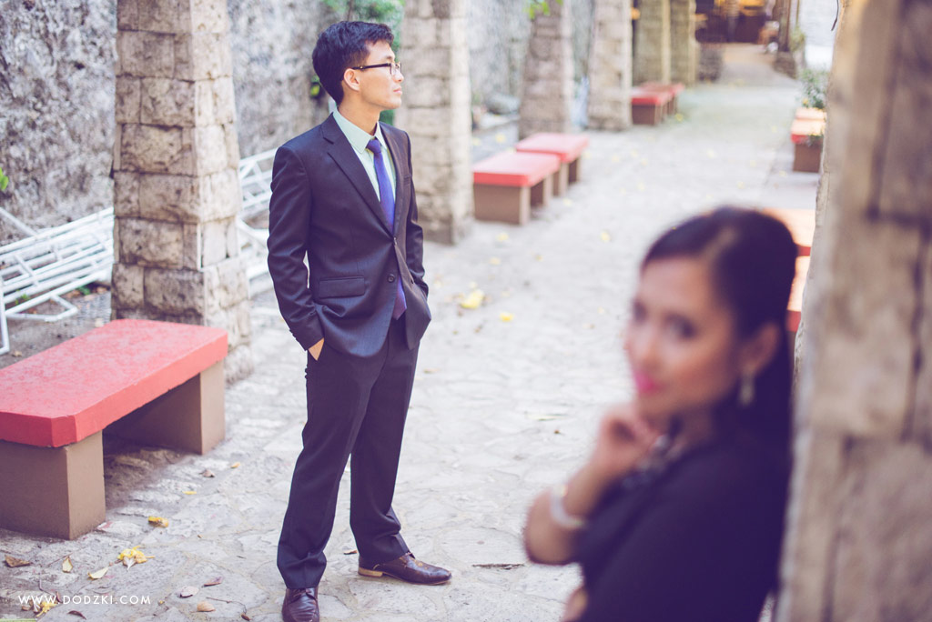 E-session of Joel and Abigail in Fort San Pedro