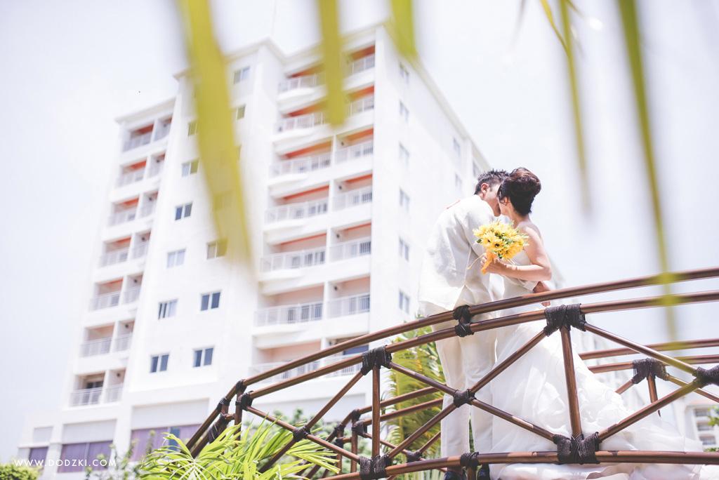 Yosuke and Kizue's Postnup destination in Cebu Shangri La Mactan