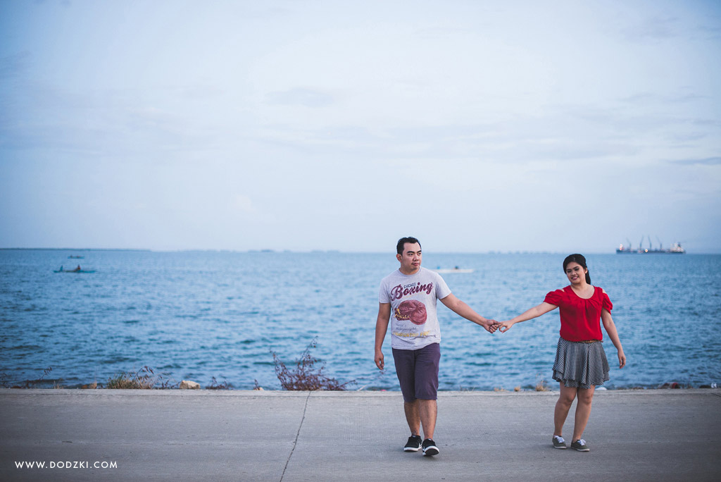 Engagement Session of Rose and Romeo