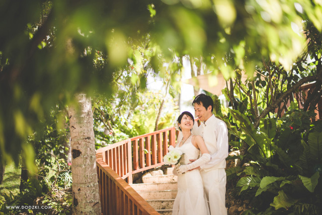 Post-wedding of Yoshihiro and Nobue by Dodzki Photography - Wedding and Portrait Photographer.
