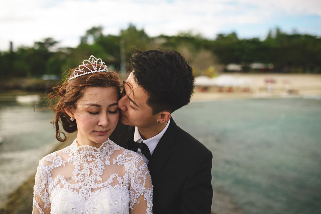Danny and Shi Bin - Cebu Beach Post Wedding
